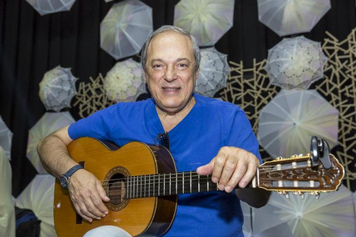 Toquinho comemora mais de 50 anos de carreira. Foto: Luis Seyssel/Divulgação