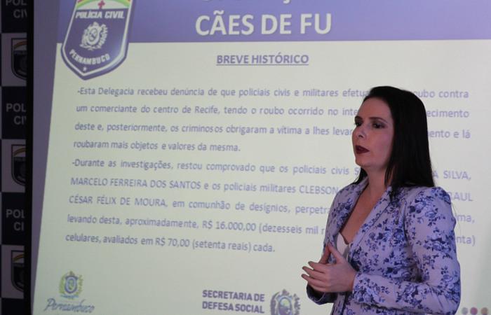 Delegada Patrícia Domingos queria permanecer na mesma função no Draco. Foto: Julio Jacobina/DP