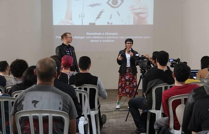Palestra na CriptoRave, edição de São Paulo. Foto: Divulgação