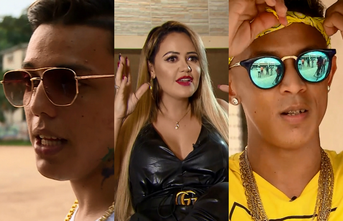 Elvis, Michelle Melo e Troinha são alguns dos personagens principais. Foto: GloboNews/Reprodução