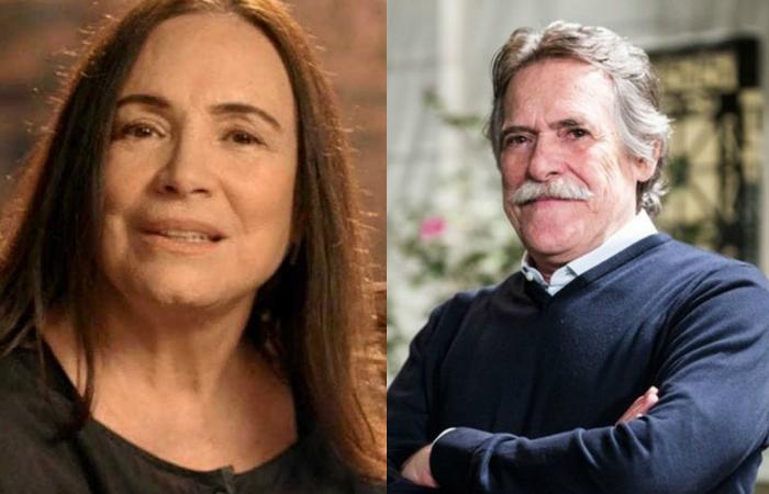 Regina Duarte e Zé de Abreu são alguns atores conhecidos pelas suas posições políticas. Foto: GShow/Reprodução
