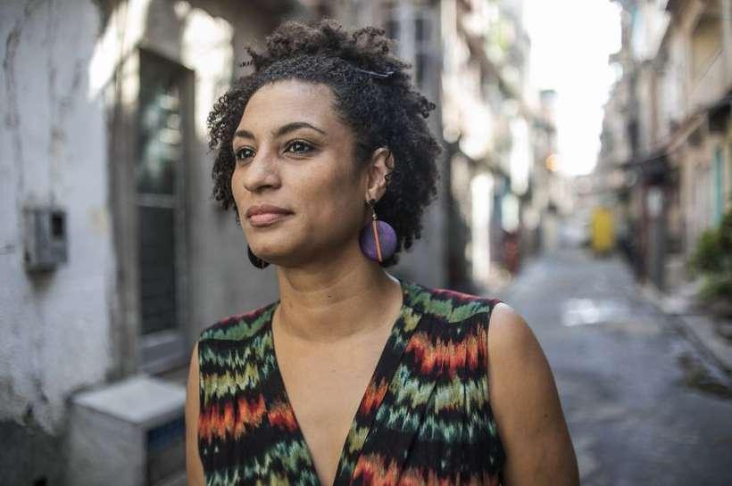 Vereadora foi atingida por quatro tiros, em 14 de março. Com ela, morreu também o motorista Anderson Gomes. Foto: Facebook/Reprodução