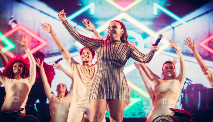 Em entrevista ao Viver, a cantora revelou que a consolidação de sua carreira é fruto de muito de trabalho e apoio dos fãs. Foto: Divulgação