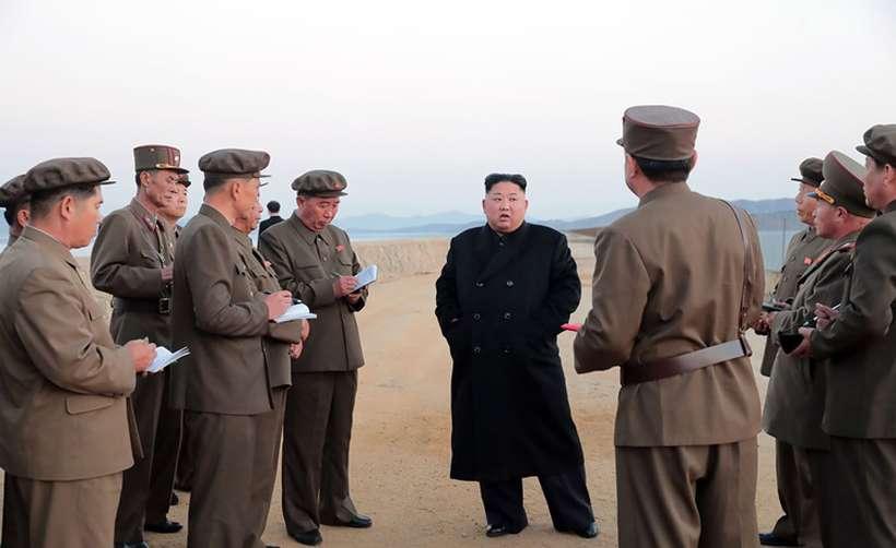 Foto: KCNA VIA KNS / AFP