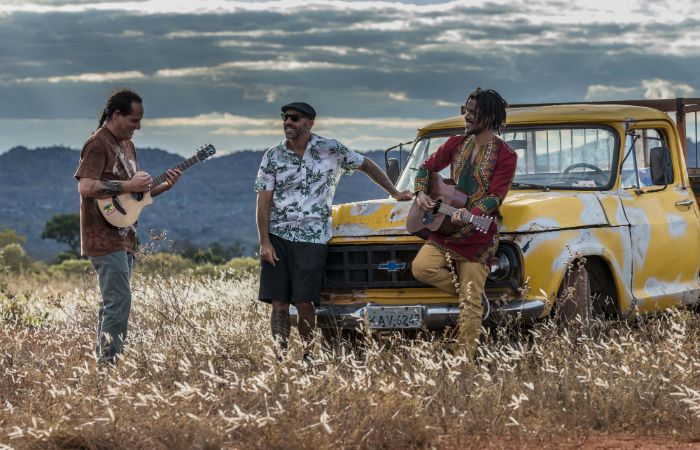 Os meninos da Natiruts estão super focados no lançamento do novo disco. Foto: André Dib/Divulgação