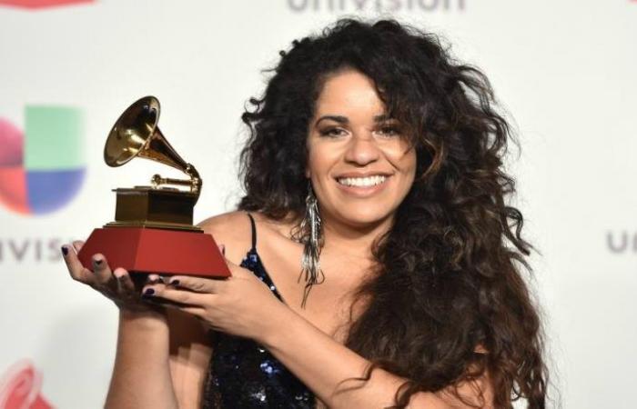 Anaadi foi indicada em outras três categorias, entre elas a de melhor artista revelação. Foto: AFP
