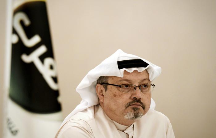 O homicídio, em 2 de outubro, do jornalista, crítico do poder saudita e colaborador, entre outros, do jornal Washington Post, se tornou um escândalo de escala global. Foto: MOHAMMED AL-SHAIKH / AFP