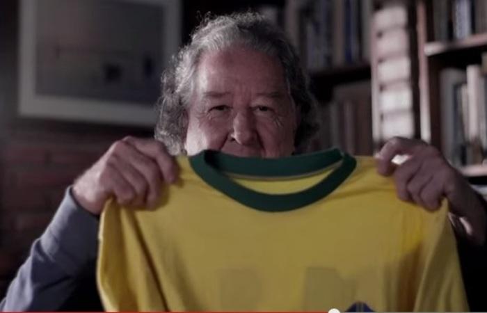 Morre em Pelotas o criador da camisa canarinho 82d2d7803af3f