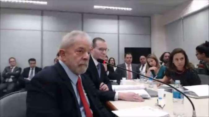 Lula é apontado pelo MP como dono do sítio, reformado por três empresas (foto: Reprodução de Vídeo)