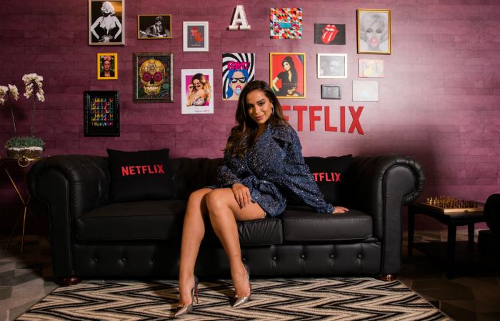 Além dos aspectos mais profissionais, Vai Anitta explora questões da vida pessoal da artista. Foto: Netflix/Divulgação.