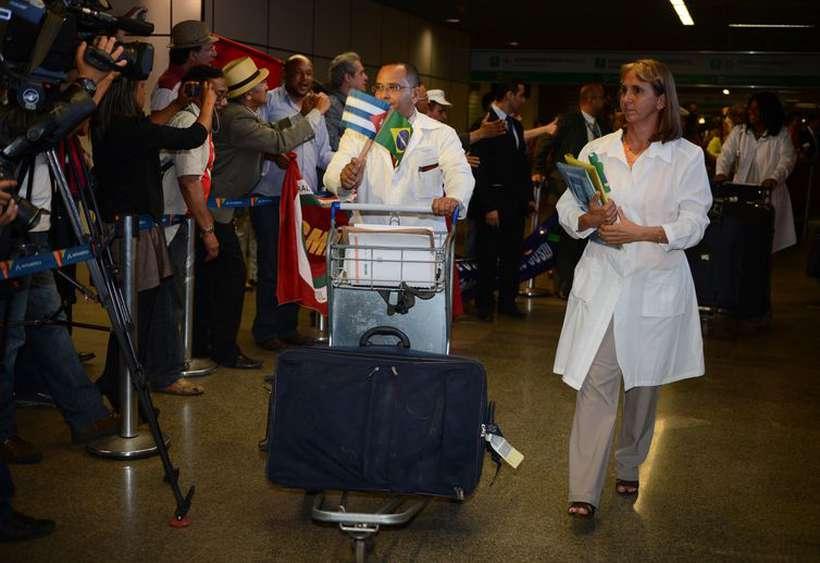Médicos cubanos desembarcam no Brasil. Foto: José Cruz/Arquivo Agência Brasil