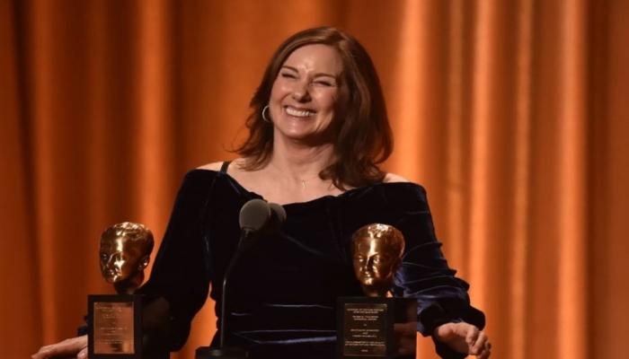Kathleen Kennedy, produtora de Star Wars. Foto: Robyn Beck/AFP