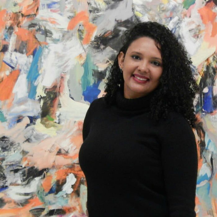 O acervo da artista plástica Micaella Alcântara ficará disponível para visitação até o dia 2 de dezembro. Foto: Divulgação.