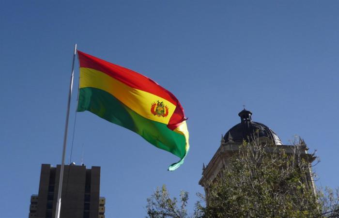 Bandeira da Bolívia. Foto: Reprodução/Agência Brasil