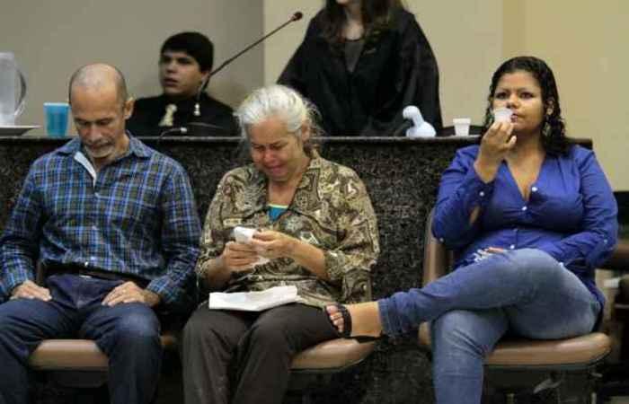No primeiro julgamento em 2014, durou dois dias e o trio foi condenado pela morte de Jéssica Camila. Fotos: Anaclarice Almeida/DP/D.A Press