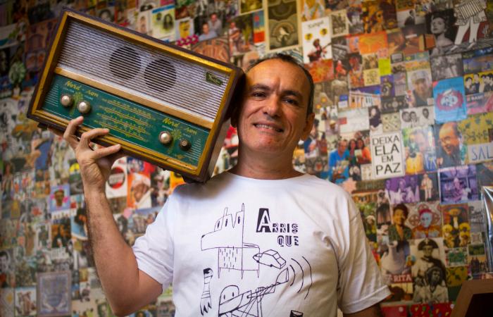Fábio Cabral de Mello é o proprietário do estabelecimento. Foto: Leo Malafaia/Esp. DP