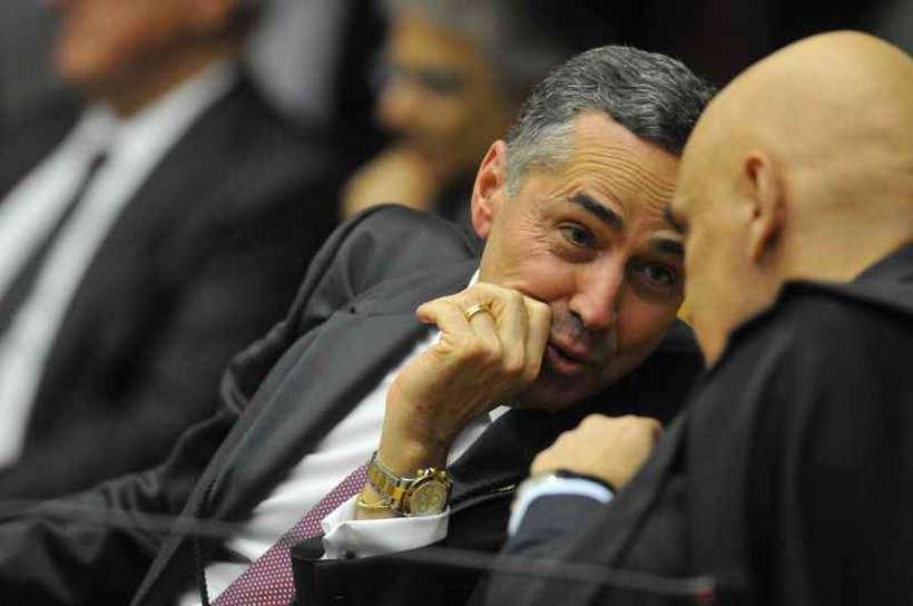Barroso votou pela derrubada de parte do indulto; Moraes, pela constitucionalidade da medida. Foto: Minervino Junior/CB/D.A Press