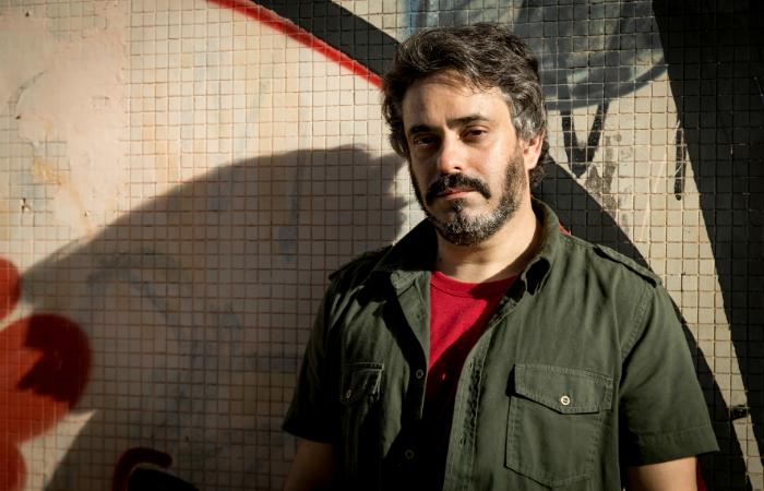 André Mussalem já soma três décadas de autoria musical, mais de cem composições e o álbum de estreia, No morro na minha cabeça (2016). Foto: Josivan Rodrigues/Divulgação