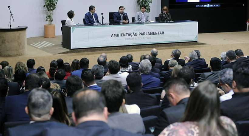 A série de encontros foi iniciada com um evento de boas-vindas Foto: Cleia Viana/Câmara dos Deputados
