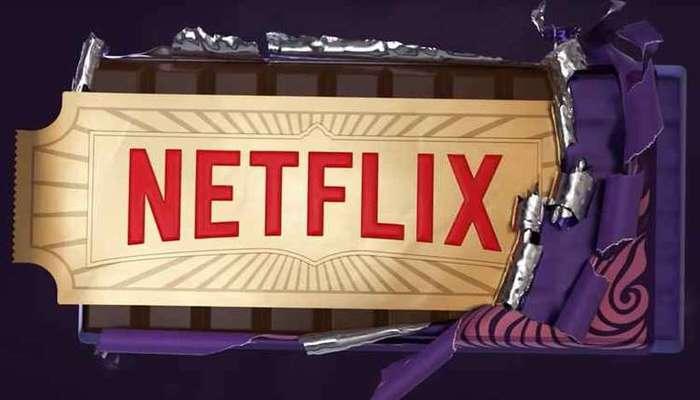 O canal da Netflix no YouTube publicou um vídeo inspirado em 'A fantástica fábrica de chocolate' para divulgar a novidade. Foto: Reprodução/Youtube