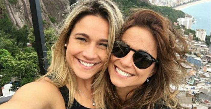 Fernanda Gentil e Priscila Montandon assumiram o relacionamento em 2016. Foto: Reprodução do Instagram.