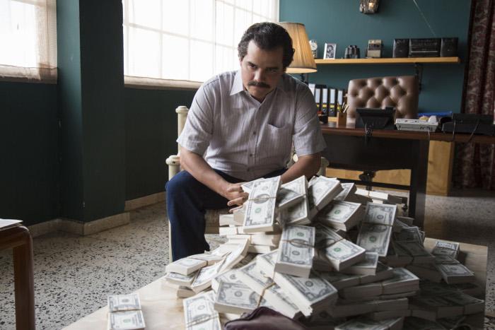 O ator brasileiro Wagner Moura interpretou Escobar na série Narcos. Foto: Daniel Daza/Netflix