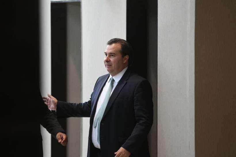 Rodrigo Maia, o nome mais forte na disputa por ocupar o cargo neste momento: concorrência de novatos. Foto: Ed Alves/CB/D.A Press