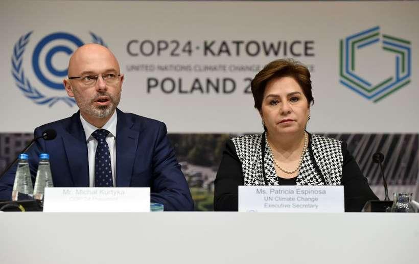 """Nenhum governo sozinho pode resolver esse problema"", afirmou o polonês Michael Kurtyka, presidente da COP-24. Foto: Janek Skarzynski/AFP"