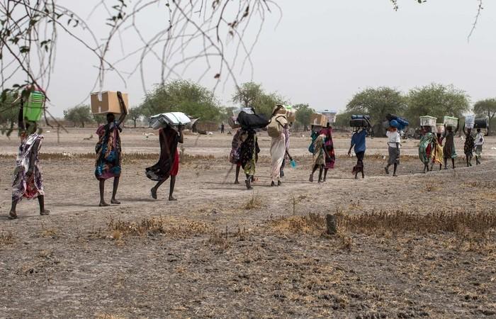 Violência já provocou fuga de um terço da população do país africano. Foto: Siegfried Modola/ Divulgação Médicos Sem Fronteira
