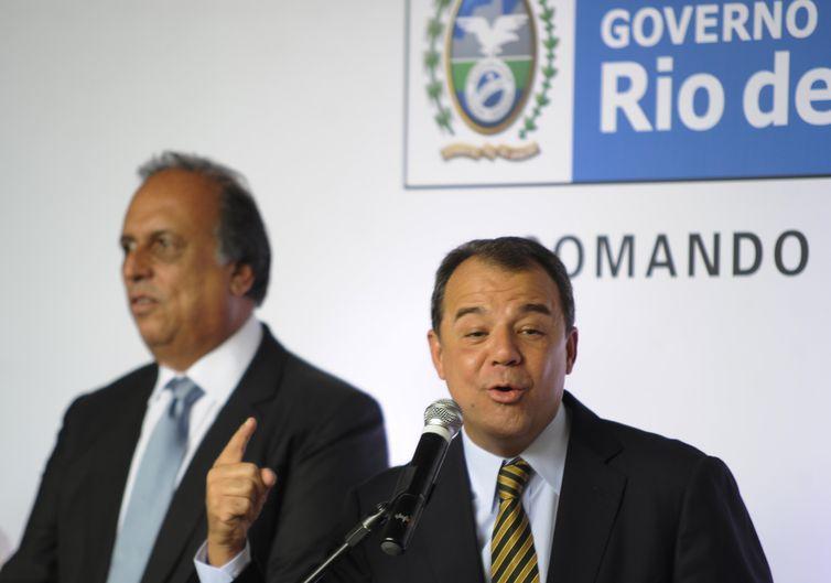 Penas impostas ao ex-governador Sérgio Cabral somam quase 200 anos. Foto: Tomaz Silva/Agência Brasil