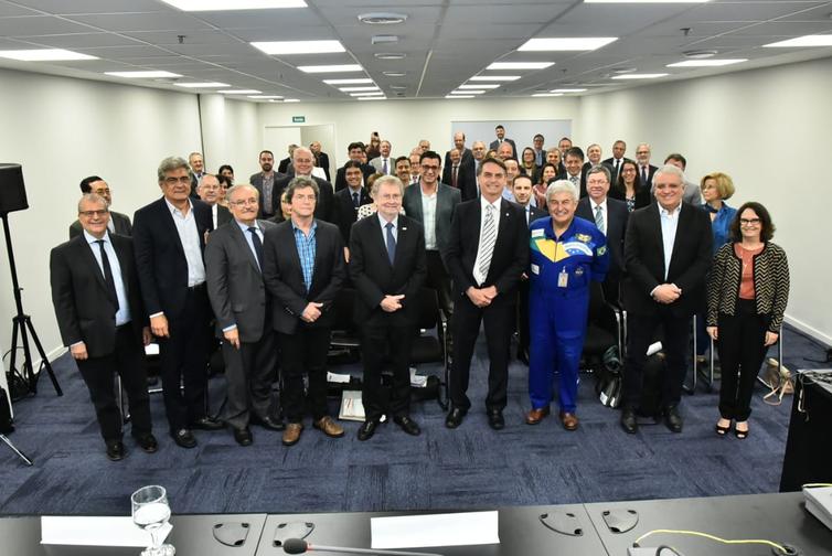 O presidente eleito Jair Bolsonaro reúne-se com indicados para compor sua equipe. Foto: Divulgação/Assessoria da Transição