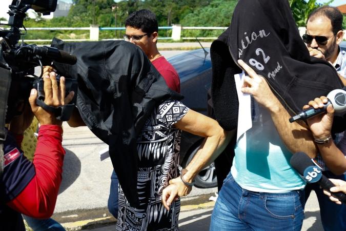 A esposa da vítima e o filho do casal estão presos desde o dia 5 de julho por homicídio triplamente qualificado e ocultação de cadáver. Foto: Marlon Diego/Esp.DP