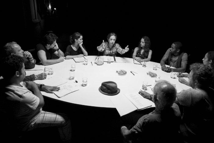 O elenco é formado por Fernanda Montenegro, Débora Falabellla, Lázaro Ramos, Stênio Garcia, Otávio Müller e Augusto Madeira. Foto: Divulgação