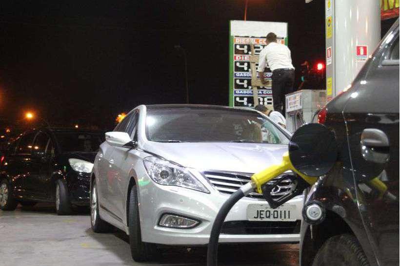 Aumento da Gasolina. Posto de Gasolina do Sudoeste. Foto: Bárbara Cabral/Esp. CB/D.A Press