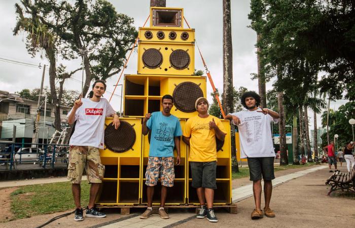 o sistema de som fundado no Recife por Jah Leo em 2012. Foto: Divulgação