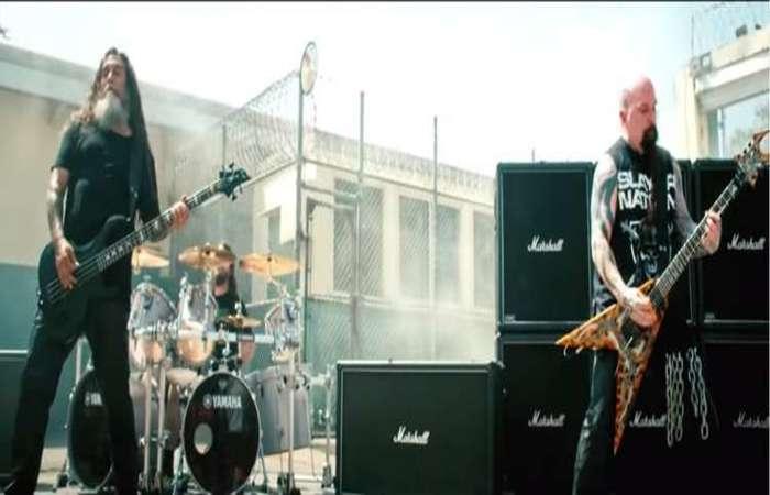 Trecho do videoclipe Repentless, da banda Slayer. Foto: Divulgação/Youtube