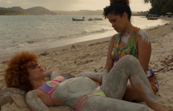 A obra é estrelada por Augusta Ferraz, Laís Vieira e Raquel Ferreira. Foto: Parto Sim/Divulgação