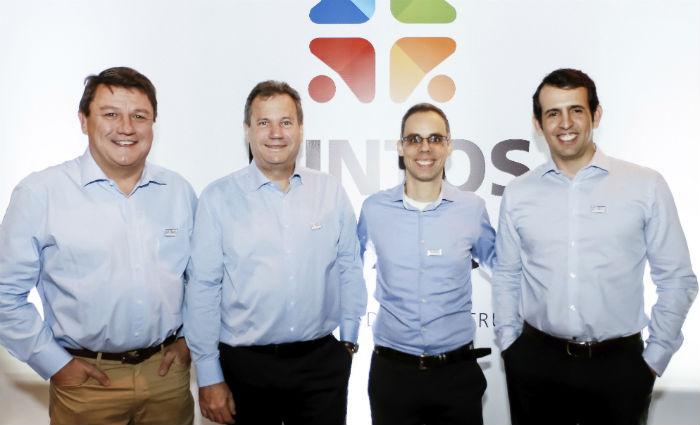 Otto, Walter, Antonio e Gustavo apresentaram a nova empresa. Foto: Votorantim Cimentos/Divulgação