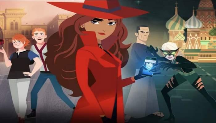 Carmen Sandiego é a nova série de animação da Netflix para 2019. Foto: Reprodução/Netflix