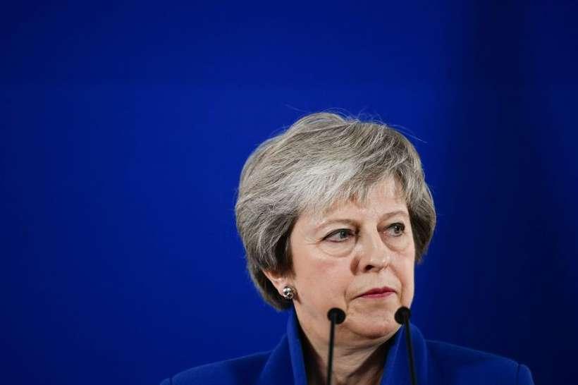May não consegue obter o apoio majoritário de seu partido ao acordo do Brexit com a União Europeia. Foto: Philippe lopez/AFP