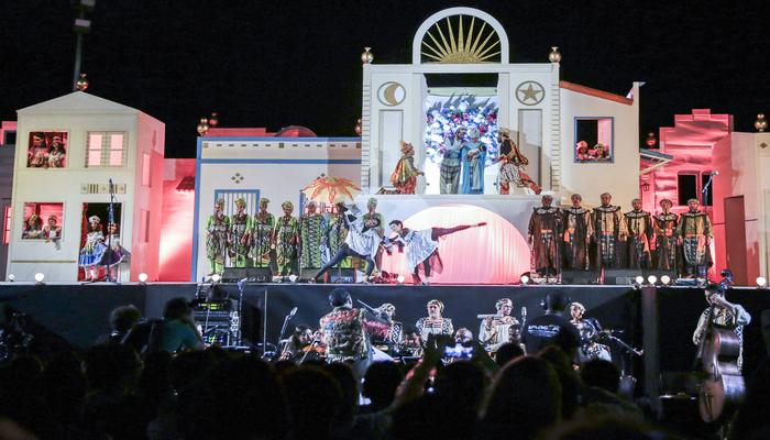 Encenado desde 2004, o espetáculo se tornou um dos principais itens do calendário festivo da capital pernambucana. Foto: Divulgação