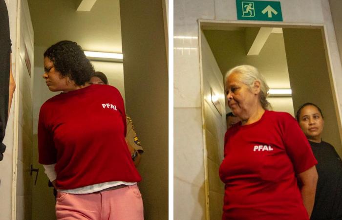 Bruna Cristina Oliveira Isabel Cristina são acusadas de matar e praticar canibalismo - Fotos: Léo Malafaia/Esp.DP