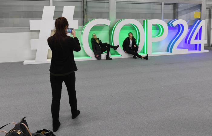 COP 24 foi realizada na Polônia. Foto: Janek SKARZYNSKI / AFP