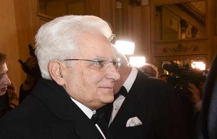Sergio Mattarella, presidente da Itália. Foto: Miguel MEDINA/ AFP