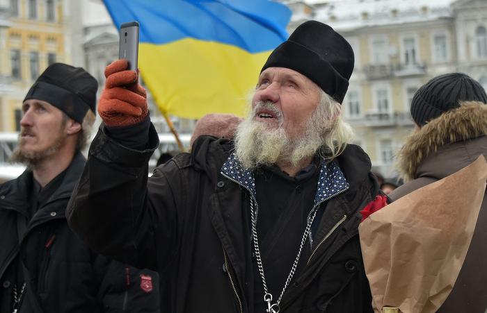 Ucrânia cria igreja independente da Rússia. Foto: Genya SAVILOV / AFP