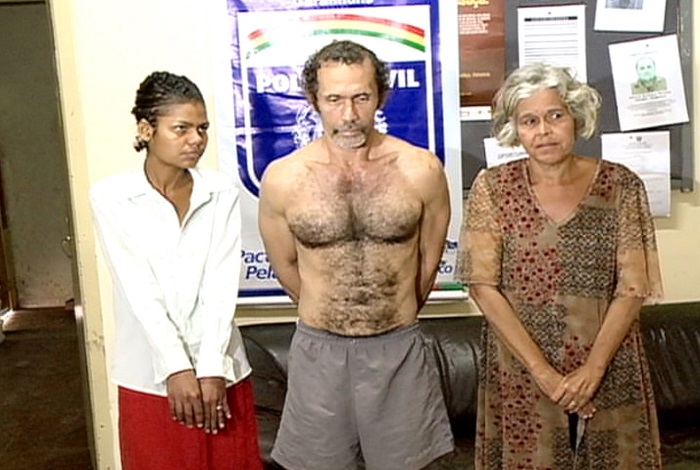 Trio, em 2014, quando a denúncia levou o caso a júri popular. Foto: Reprodução/TV Clube