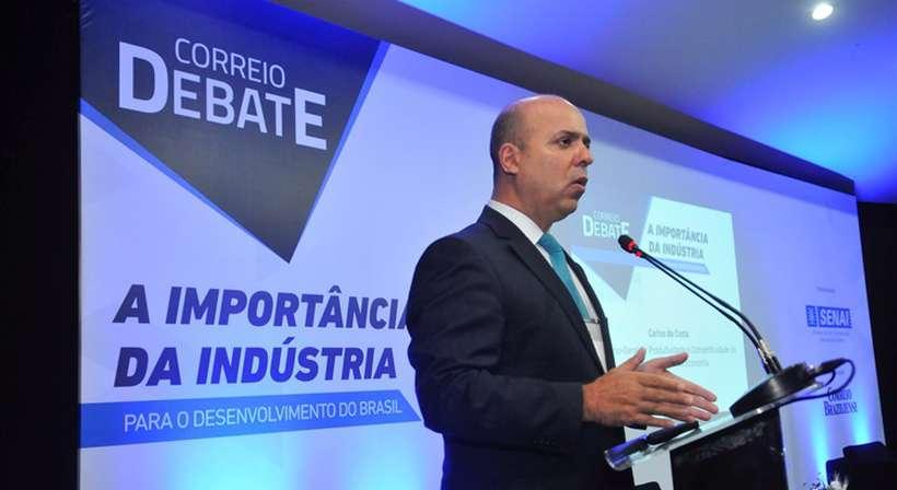 Carlos da Costa apontou que o Brasil perdeu poder de produtividade nos últimos anos. Foto: Minervino Junior/CB/D.A Press