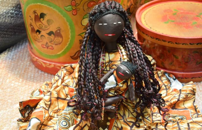 Dentre as peças expostas, haverá uma Nossa Senhora africana, com o cabelo em dreadlock. Foto: Fundaj/Divulgação