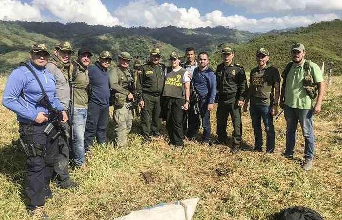 Foto: Divulgação/Policia Colombiana