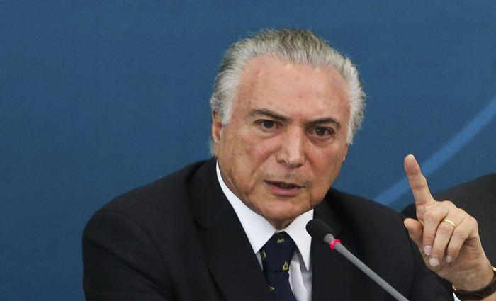 Medida foi assinada pelo presidente Michel Temer. Foto: Antonio Cruz/Agência Brasil